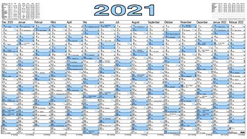 Plakatkalender 917, Kalendarium 15 Monate/1 Seite, feucht abwischbar Nein
