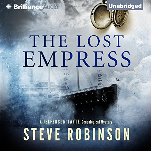 The Lost Empress audiobook cover art