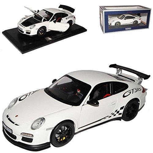 Norev Porsche 911 997 GT3 RS Weiss 2004-2011 1/18 Modell Auto