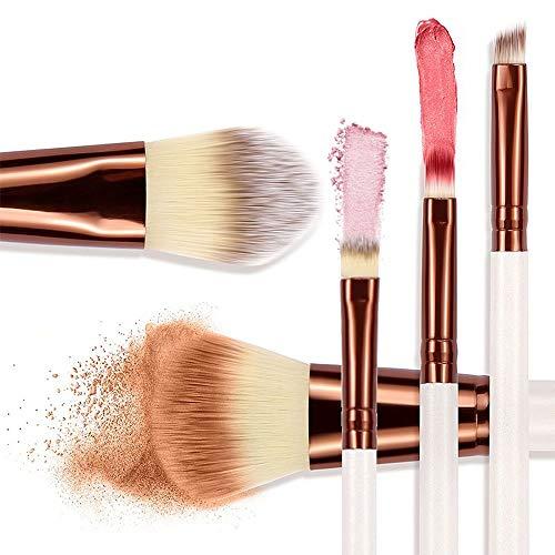 5 Pcs High End Premium Cosmétiques Synthétiques Contouring Poudre Contour Fondation Sourcils Fard À Paupières Maquillage Brush Set Kit Brosse à maquillage XXYHYQ