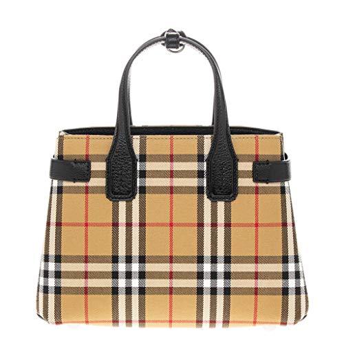 BURBERRY Handtasche Damen Tasche Damenhandtasche Tote Bag Banner Braun