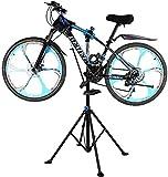 1.9m Soporte de reparación de Mantenimiento de Bicicletas, Trípode de Reparación de Bicicleta, Estación de reparación de Bicicletas, Soporte para Reparar Bicicleta, Girando hasta 360 °, Ajustable
