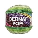 Bernat POP!, 5oz, Guage 4 Medium, 100% Acrylic, Greenhouse