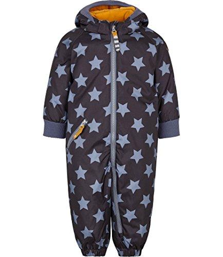 Racoon Baby-Jungen Anton Star Schneeanzug Wassersäule 9.000, Mehrfarbig (Flint Stone Fli), 74