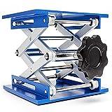 """8x8""""/ 6x6"""" / 4x4"""" Charge Maximale 10-25kg Table élévatrice d'alumine de Laboratoire Crics de Laboratoire Crics pour Levage d'instruments Chimiques (4INCH)"""