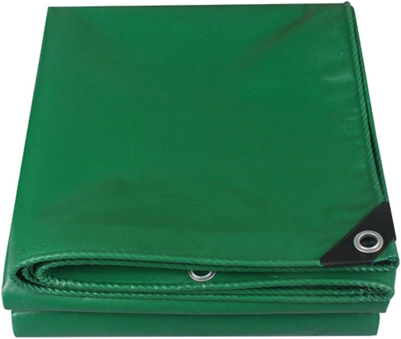 LEGOUGOU 100% Wasserdicht Und UV-Bestendig Schwere Plane Auto Dach Regen Abdeckung Camping Anhnger Zelt (grün)