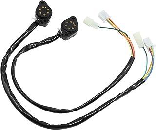 sourcingmap 2Stk Gear Position Gauge Assy Sensor Draht Neutral Sicherheit Schalter für GN125 de