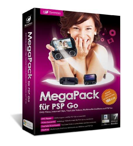Wondershare MegaPack für PSP und PSP Go