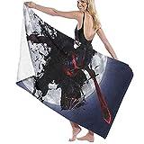 ZDmood Toalla de baño de Microfibra Fate Yoga portátil de la natación de la Aptitud de la Toalla de Playa de Secado rápido 80X130CM