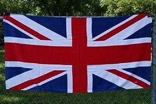 British Union Jack (UK Great Britain) England 30 x 60 Beach Towel (Cotton Twill)