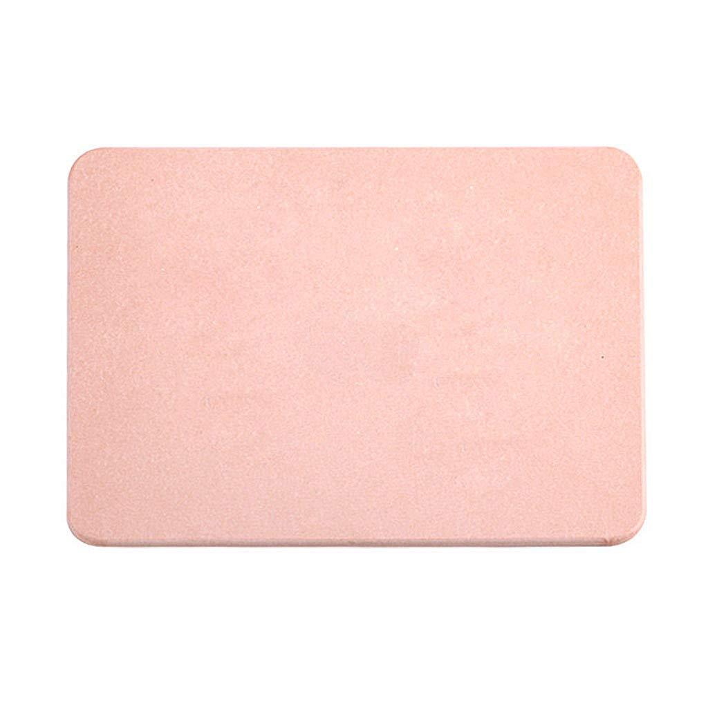 DFVVR Diatom - Alfombrilla de baño antideslizante, absorbente, de secado rápido, ultra absorbente, Rosa, Large: Amazon.es: Hogar