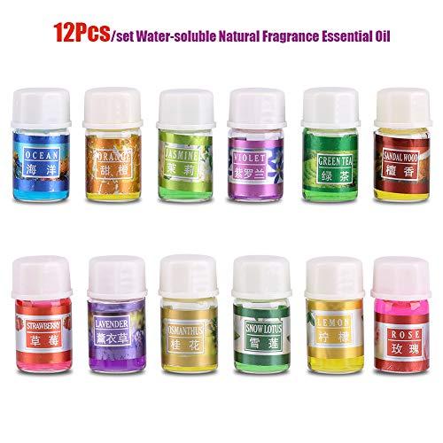 Natürliches Parfüm Ätherisches Öl Relax Kit Wasserlösliche 100% Reine Organische Pflanzentherapie Aromatherapie Diffusor Öle für Luftbefeuchter