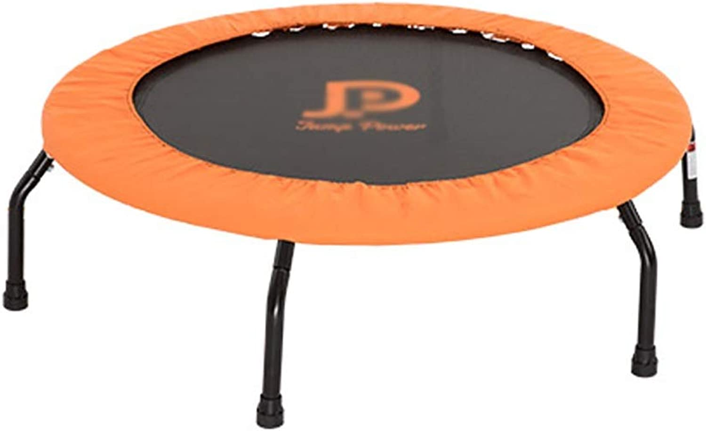 con 60% de descuento Trampolines Trampolines Trampolines Mini trampolines para interiores con relleno de resortes para Niños, equipo de entrenamiento de rebote de acondicionamiento físico para adultos al aire libre en Color naranja al aire libre  promociones de equipo
