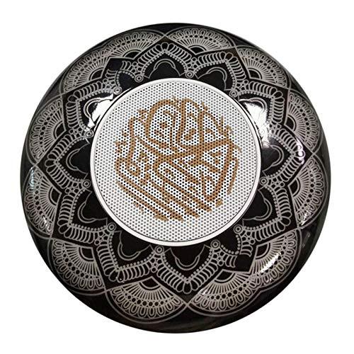 PETSOLA Lámpara de Altavoz Bluetooth Quran con Decoración Navideña de Control Remoto de Luz de 7 Colores