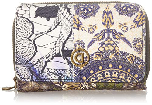 Desigual Womens Accessories Fabric MEDIUM Wallet, Black, U
