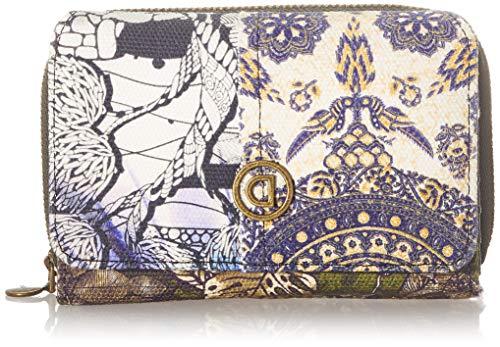 Desigual Accessories Fabric Medium Wallet, Donna, Nero, U