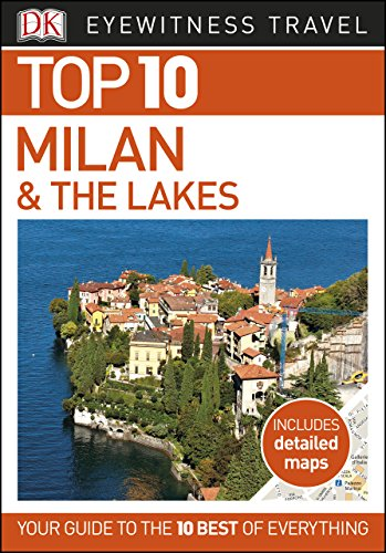 DK Eyewitness Top 10 Milan and the Lakes (Pocket Travel Guide) (English Edition)