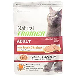 Natural Trainer Adult – Damp Feed for Cats, Chicken, Gr. 85