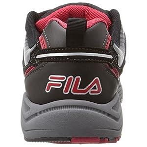 Fila Men's Headway 6-M, Castlerock/Black Red, 10 M US