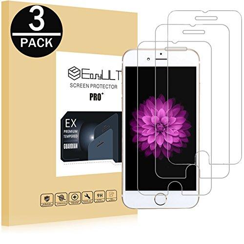 EasyULT Kompatibel mit Schutzfolie Displayschutzfolie Glas Folie Glasfolie Displayschutz Für iPhone 6/6S [3 Stück]
