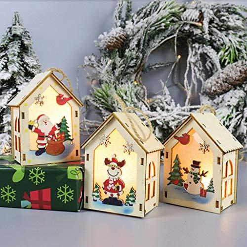 Avmy Led Christmas Wind Lantern Ornaments Pendant Decoration 2pc Festival Led Light Christmas Decorations Night Light
