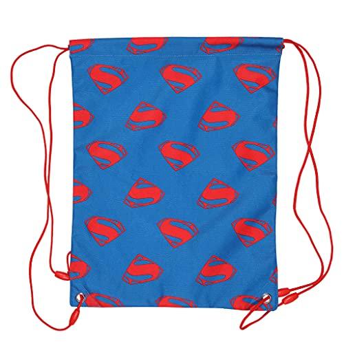 DC Comics Justice League Superman Logo Bolsa de Gimnasio para niñas   Producto Oficial   DC Comics Superman Girls Gym Bag