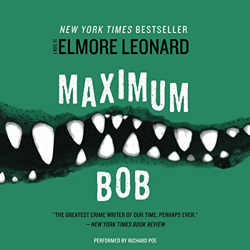 Maximum Bob audiobook cover art