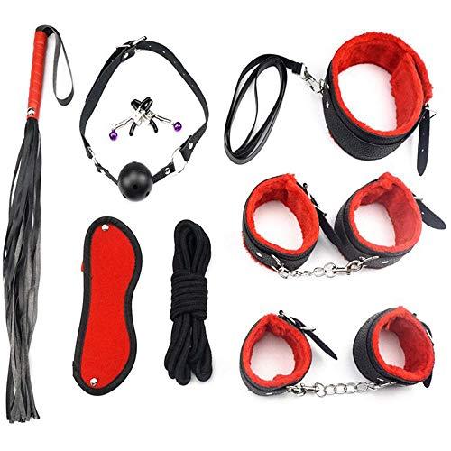 8 Stück Sex-Y Toys4couple, Bundle-Kit,-ô-ù-plḔs T-ô-ys STR-ḁps Spielzeug Ḉ-Ṏ-ù-plḔs T-Ṏ-ys, verbessern Sie Ihre Lebensqualität, SēxRḔ-st-rḀiňtS - Ḕ-xKït, Überraschung für Partner