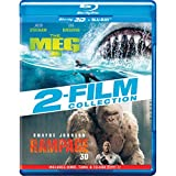 2 Movies Collection: The Meg + Rampage (Blu-ray 3D & Blu-ray) (4-Disc)