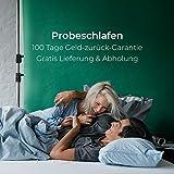 Snooze Project – Gel-Schaum Topper Matratzen-Auflage – 5cm Höhe – Extra Weich – Visco-Schaum RG 50 Schaumstoff – Allergiker-geeignet und Öko-Tex 100 zertifiziert Größe 90×200 - 4