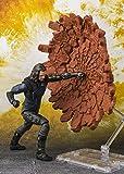 TAMASHII NATIONS- Bucky & Tamashi Effect Impact Set Figura 15 cm Marvel Avengers Infinity Wars SH Figuarts (BDIMV551771)