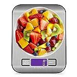 Báscula de Cocina Báscula Electrónica de Cocina Digital Báscula de Cocina 10kg Suministros Accesorios de Precisión de Acero Inoxidable Alimentos Escala de Dieta