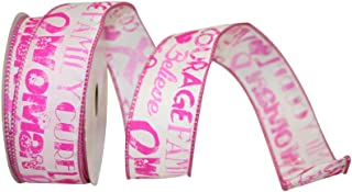 Best large pink breast cancer ribbon Reviews