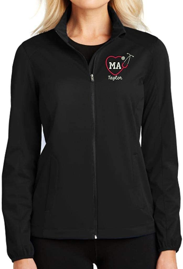 Max 85% OFF Ranking TOP2 Why Not Stop N Shop Personalized Full Zip Medical Assistant Jack