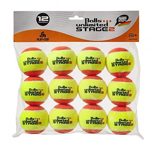 Balls ... unlimited Stage 2 (orange) Kinderbälle, Trainingsbälle 50% Druckreduziert, Methodikbälle - 12er Pack