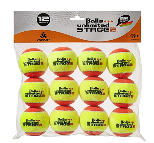 Balls ... unlimited Stage 2 (orange) Kinderbälle, Trainingsbälle 50% Druckreduziert, Methodikbälle - 12er Pack