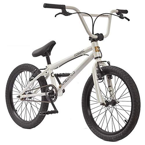 KHEbikes BMX Cosmic Bicicletta da 20 pollici con rotore Affix, solo 11,1 kg , bianco