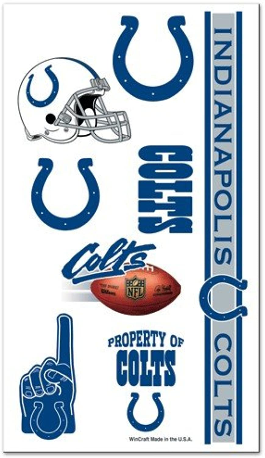 Caseys Distributing 3208509427 Indianapolis Colts Temporary Tattoos
