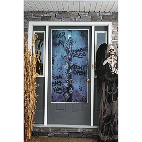 Generique - Halloween-Türdekoration - 46 x 152 cm