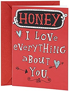 Hallmark Shoebox Funny Valentine's Day Card for Significant Other (Love Everything About You)