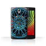 Stuff4 Hülle/Case für Lenovo A2010 / Blau/Rot