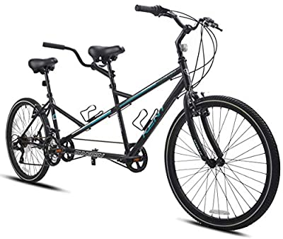 "Kent International 26"" Synergy Tandem, Black"