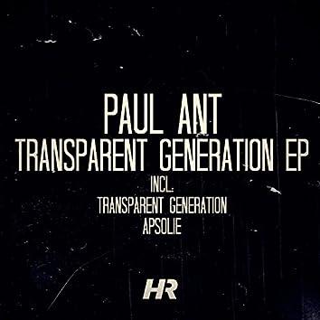 Transparent Generation EP