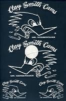 クレイスミスCLAY SMITH 転写ステッカー/WHITE 白ライン/CSY-016