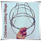 Doowops Traditional Chinese Linking Rings 6 Set (Magnetic Lock 12 ') - Trucos de Magia, Escenario, Comedia, mentalismo, ilusión