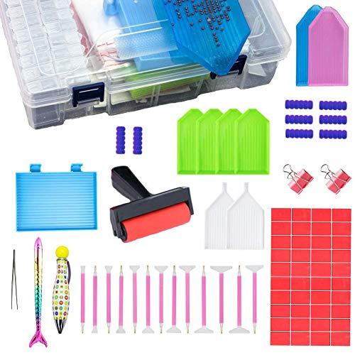 Kit Diamond Painting 5D,5D Diamond Painting Tool,Diamond Painting Accesorios,Kit Diamond Painting Material,DIY...