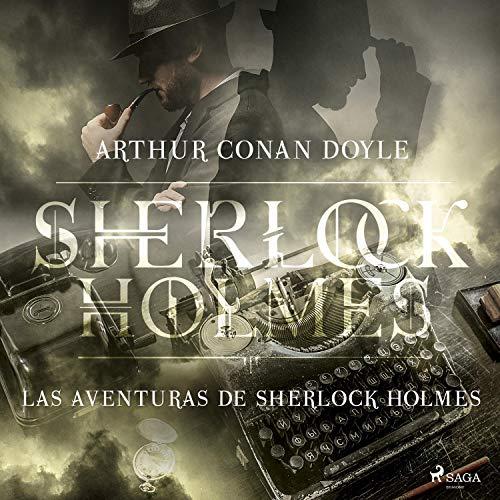 Diseño de la portada del título Las aventuras de Sherlock Holmes