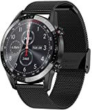 jpantech Smartwatch Uomo Impermeabile 5ATM 1.3''Orologio Fitness Tracker Touch Screen | Ch...