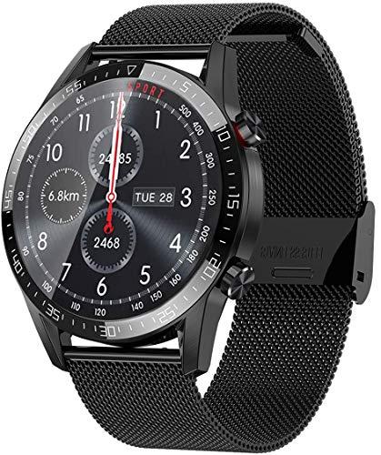 jpantech Smartwatch Voll Touch Screen IP68 Damen Herren Intelligente Uhren Sport | Bluetooth-Anruf | EKG-Überwachung Tracker Pulsuhr Schrittzähler Blutdruckmessung Wasserdicht IOS/Android