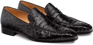 حذاء كلاسيكي للرجال من Mezlan Lisbon أسود أصلي سهل الارتداء